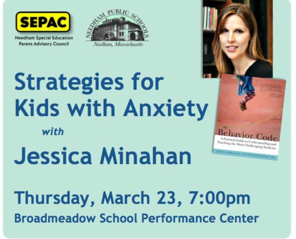 Jessica Minahan Med Bcba Speaks On >> Upcoming Events Jessica Minahan M Ed Bcba